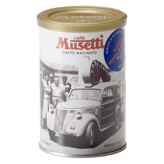 ムセッティー コーヒーパウダー モカ  125g缶 [M125CAN-MO]