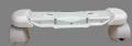オイルヒーター サーマル/ラディアL字型フィン専用(グレー車輪、六角ナット1個取付タイプ/型番指定あり) キャスター [パーツコード: 7318510758]