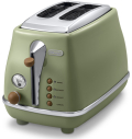 デロンギ アイコナ・ヴィンテージ コレクション ポップアップトースター [CTOV2003J-GR]