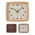 フォルムクロック 木製 壁掛け 時計