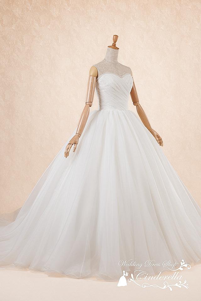 最新ウェディングドレス プリンセス