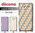 docomo SHARP AQUOS PHONE EX SH-04E・デザインケース【triangle】