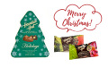 ハワイアンホースト☆クリスマスホリデーギフト缶(12粒)☆