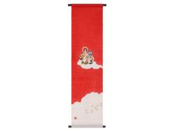 【洛柿庵】タペストリー「七福神」