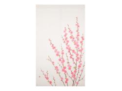 【洛柿庵】洛粋のれん「桃の花」