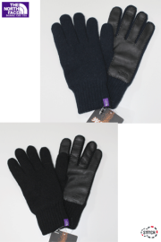 【正規取扱店】THE NORTH FACE  PURPLE  LABEL nananmica KODENSHI(R) Wool Field Gloves NN8661N  光電子(R)ウールグローブ メンズ
