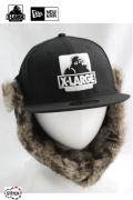 【X-LARGE(エクストララージ)×NEWERA(ニューエラ)】NEWERA OG TRAPPER CAP 12月2日発売 01164030 59FIFTYトラッパーキャップ
