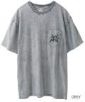 X-girl(エックスガール)X-GIRL METAL BIG S/S TEE 05172128 胸ポケット半袖Tシャツ レディース