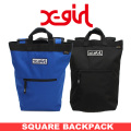 X-girl(エックスガール)SQUARE BACKPACK 05173042 バックパック リュック レディース