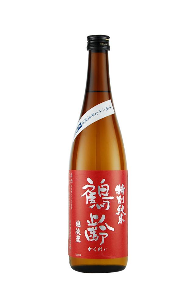 鶴齢 特別純米 越淡麗 無濾過生(720ml)