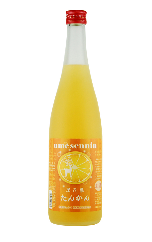 屋久島たんかん梅酒(720ml)