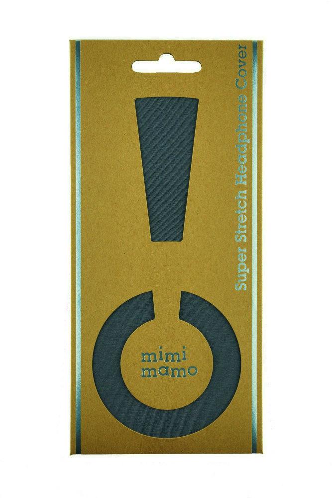 mimimamo/スーパーストレッチヘッドホンカバー L (グレー)【在庫あり】