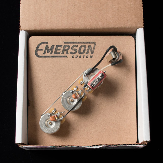 Emerson Custom/Emerson Custom Pre-Wired Kit Jazz-Bass
