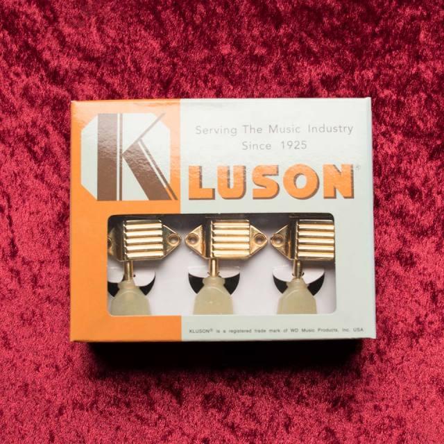 Kluson/Kluson Deluxe VX-501 / WB / PB / Gold【クルーソン】【ワッフルバック】