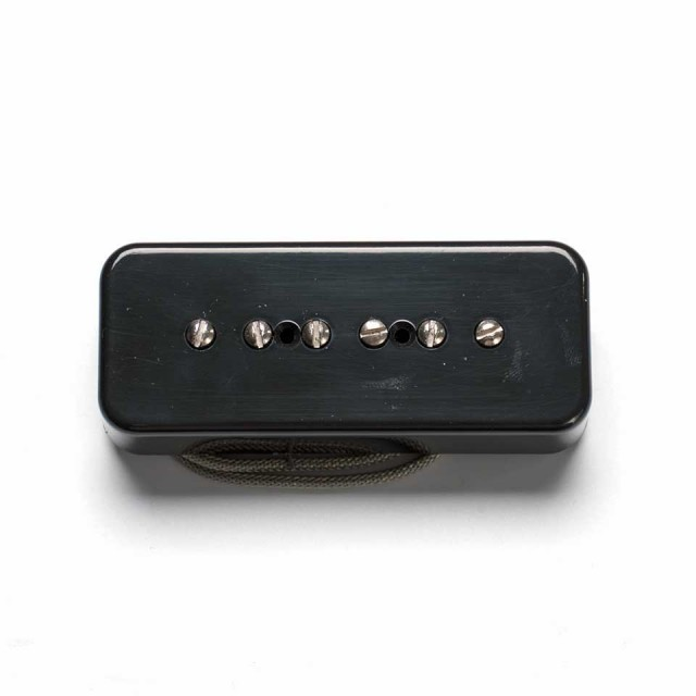 LOLLAR PICKUPS/P-90 SOAP BAR 50's / BLACK / BRIDGE【ローラーピックアップ】【在庫あり】