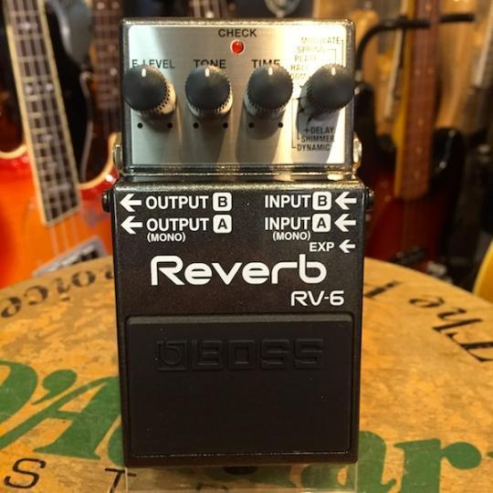 BOSS/RV-6 Reverb【ボス】【リバーブ】【お取りよせ商品/納期1ヶ月以上】