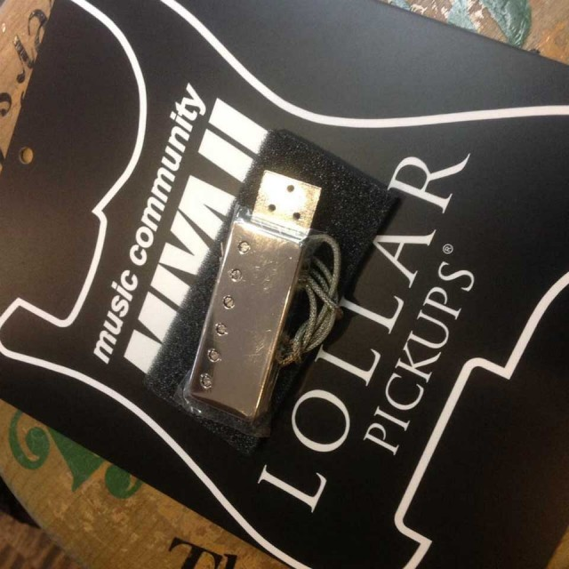LOLLAR PICKUPS/Johnny Smith Side Mount (Chrome)【在庫あり/送料無料】