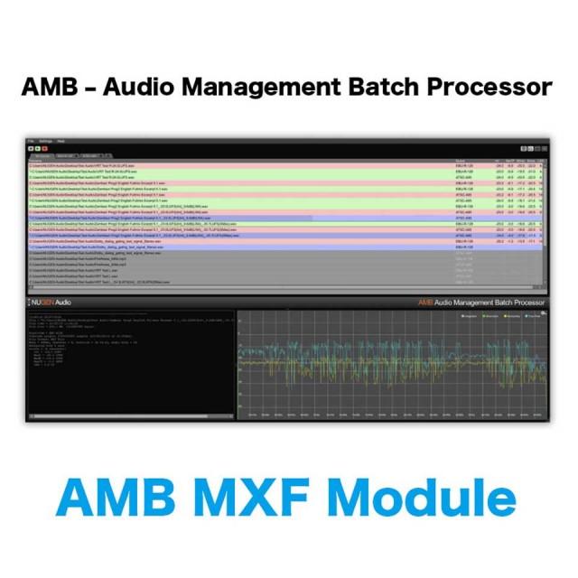 Nugen Audio/AMB MXF Module
