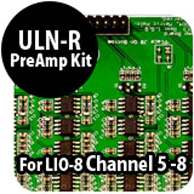 Metric Halo/ULN-R Preamp ch5-8 for LIO-8 self install