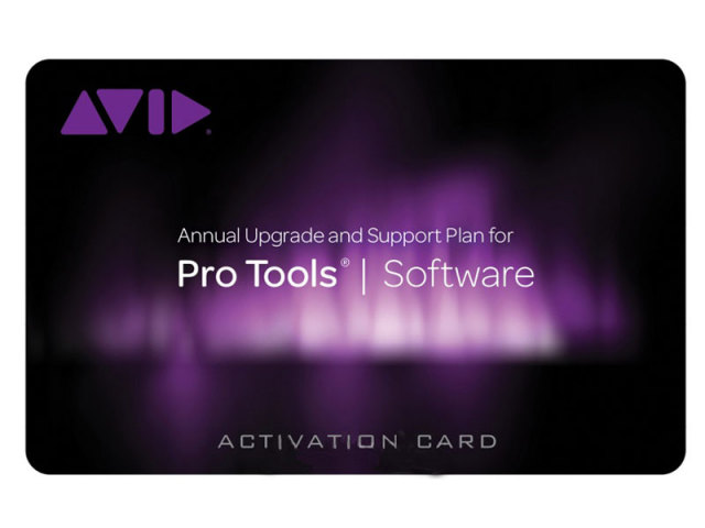 Avid/Upgrade and Support Plan for Pro Tools - Student / Teacher (Activation Card)【オンライン納品/送料無料】