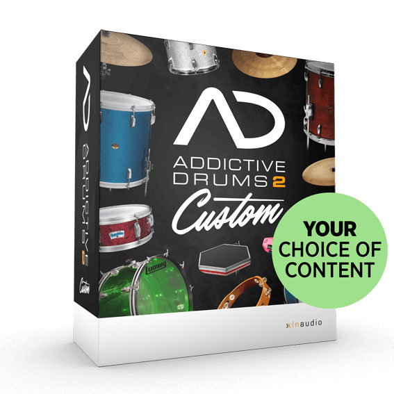 xln audio/Addictive Drums2 Custom XL【オンライン納品】【在庫あり】