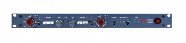 AMS Neve/1073DPD dual mic preamp