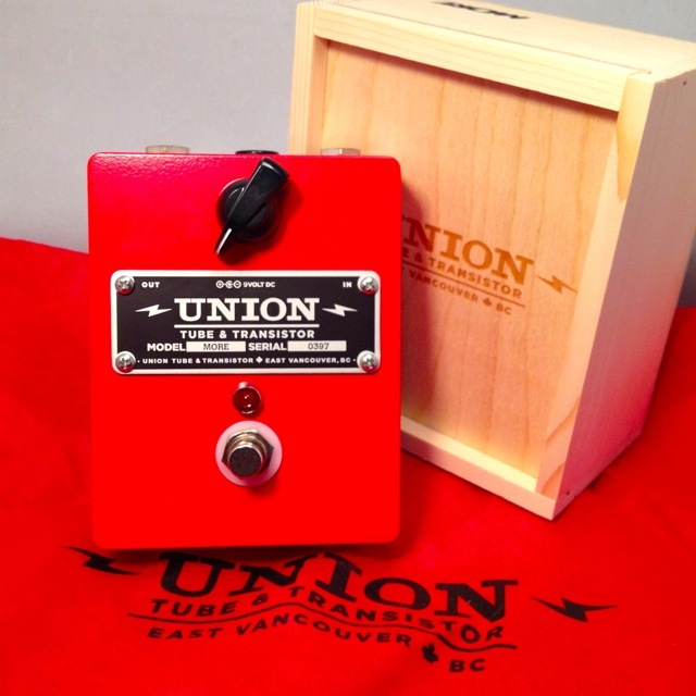 UNION TUBE&TRANSISTOR/MORE【在庫あり】