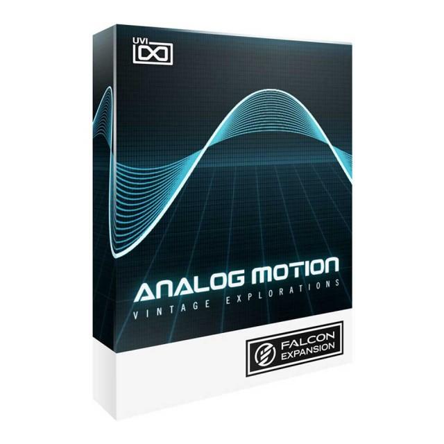 UVI/Analog Motion【FALCON専用拡張パック】【オンライン納品】