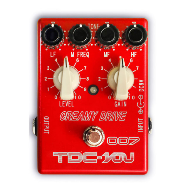 TDC/007 CREAMY DRIVE RED