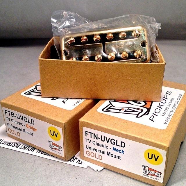 TV JONES/TV CLASSIC Gold (Set) Universal Mount【グレッチ】【ピックアップ】【数量限定特価】【在庫あり】