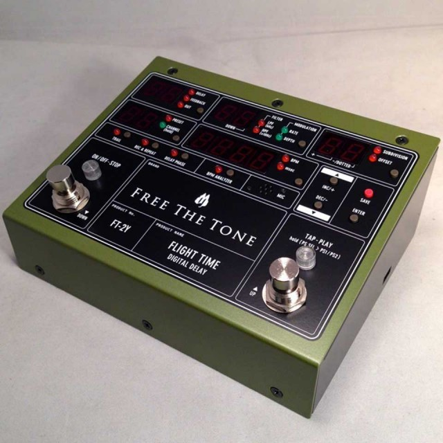Free The Tone/FLIGHT TIME FT-2Y【ディレイ】【在庫あり】