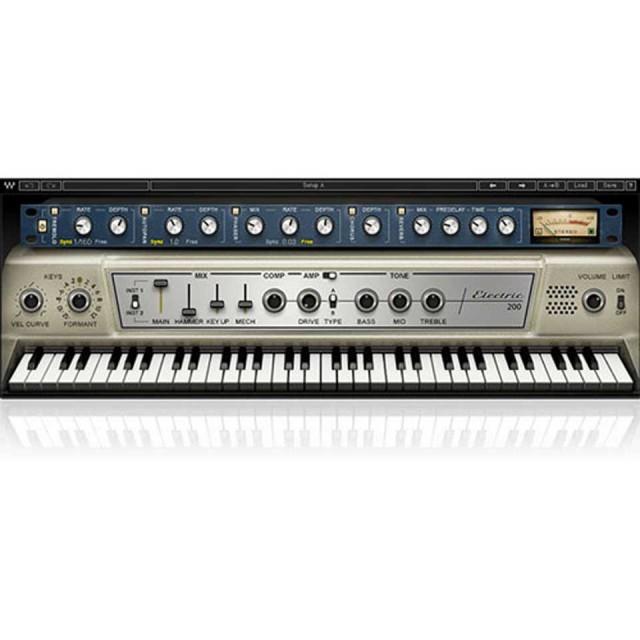 Waves/Electric 200 Piano【5月限定キャンペーン】【オンライン納品】【在庫あり】