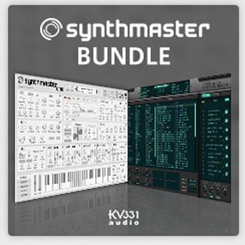 KV331/SYNTHMASTER & SYNTHMASTER ONE【数量限定キャンペーン】【オンライン納品】【在庫あり】