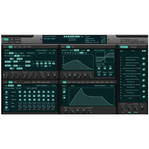 KV331/SYNTHMASTER【オンライン納品】【在庫あり】
