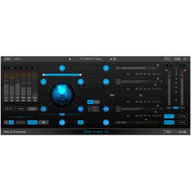 Nugen Audio/Halo Downmix【オンライン納品】【イントロプライス】