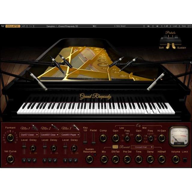 Waves/Grand Rhapsody Piano【5月限定キャンペーン】【オンライン納品】【在庫あり】