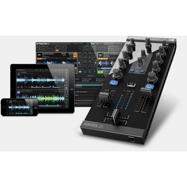 Native Instruments TRAKTOR KONTROL Z1|ネイティヴ インストルメンツ トラクター コントロール【GET TRAKTOR PRO 2 FOR FREE】