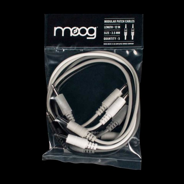MOOG/MG MOTHER 32 CABLE SET 5 12IN
