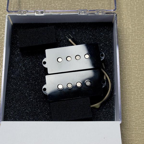 LOLLAR PICKUPS/Precision Bass Split-coil Pickups (Black)