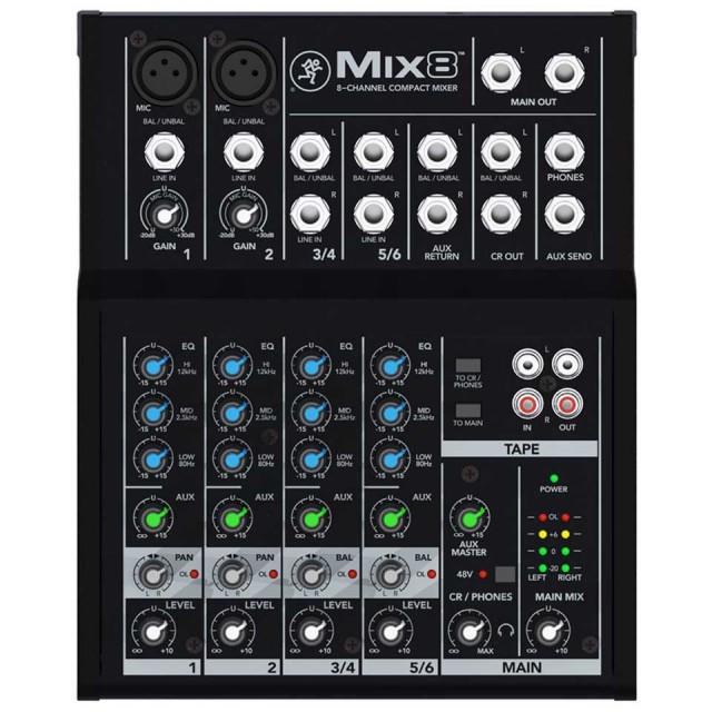 Mackie/MIX8
