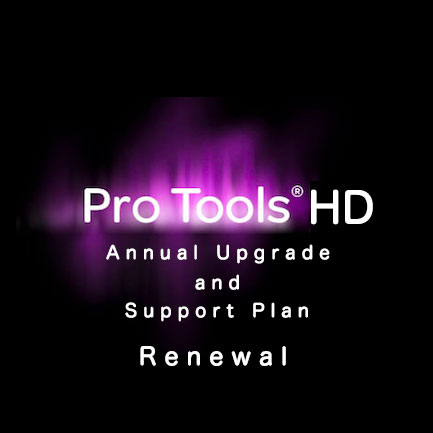 Avid/Annual Upgrade and Support Plan Renewal for Pro Tools HD【数量限定特価】【在庫あり】【オンライン納品】