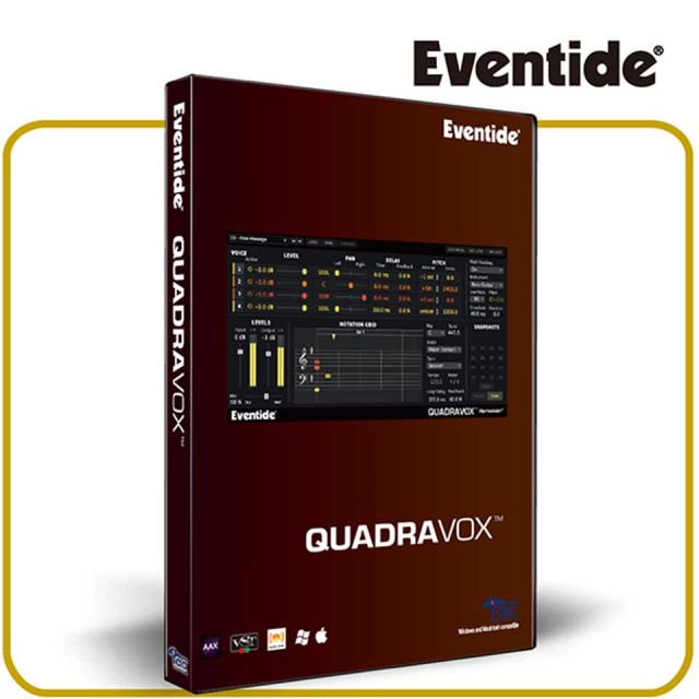 Eventide/QUADRAVOX【数量限定キャンペーン】【在庫あり】