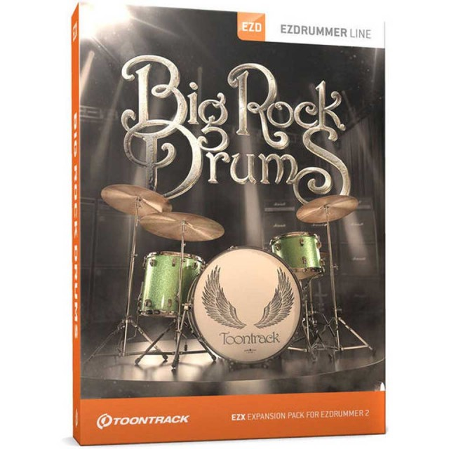 TOONTRACK/EZX BIG ROCK DRUMS