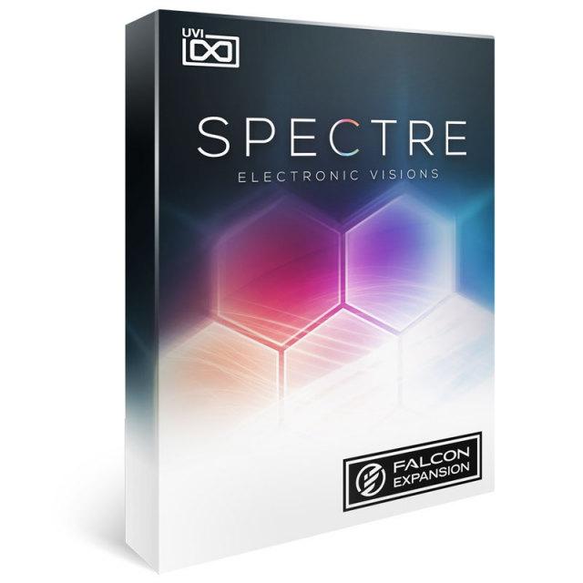UVI/Spectre【FALCON専用拡張パック】【オンライン納品】
