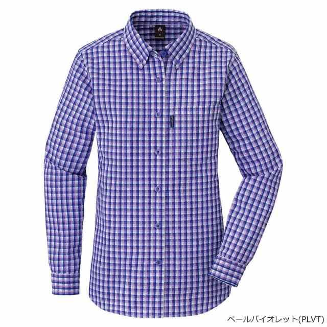 mont-bell(モンベル) ウイックロンドライタッチロングスリーブシャツ Women's PLVT 1104950