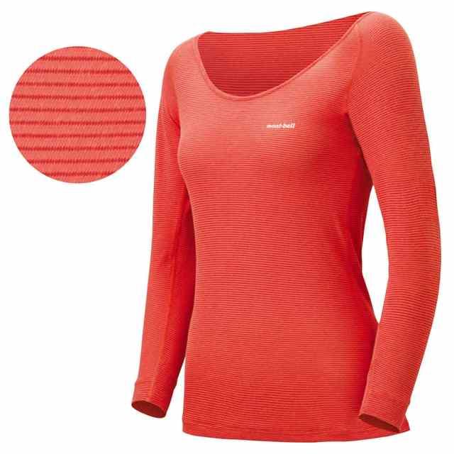 mont-bell(モンベル) ジオラインL.W.Uネックシャツ Women's COPK 1107570