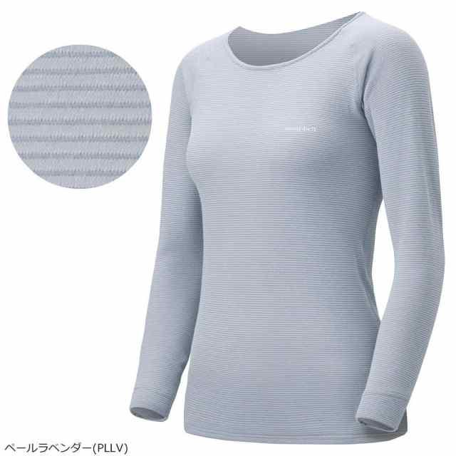 mont-bell(モンベル) ジオラインM.W.ラウンドネックシャツ Women's PLLV 1107577