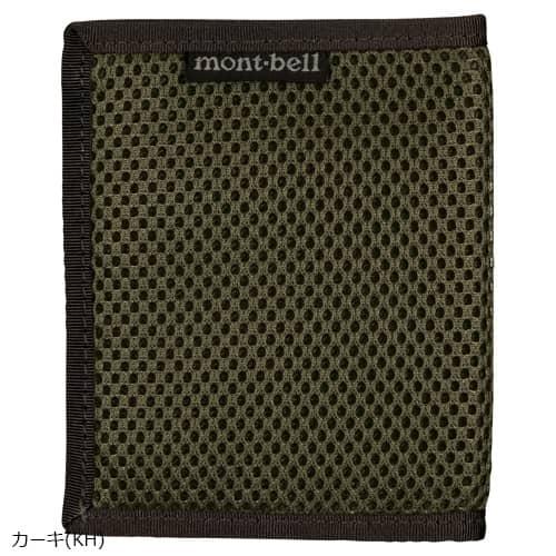 mont-bell(モンベル) スリムワレット メッシュ カーキ KH 1123772