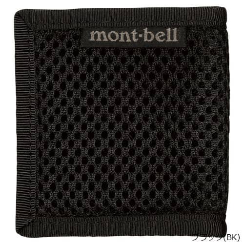 mont-bell(モンベル) コインワレット メッシュ ブラック BK 1123773
