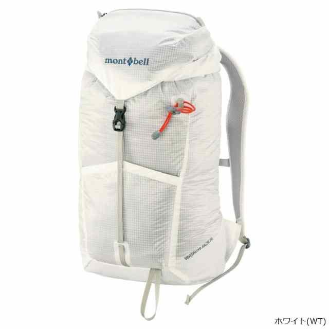 mont-bell(モンベル) バーサライトパック 20 ホワイト 1123821